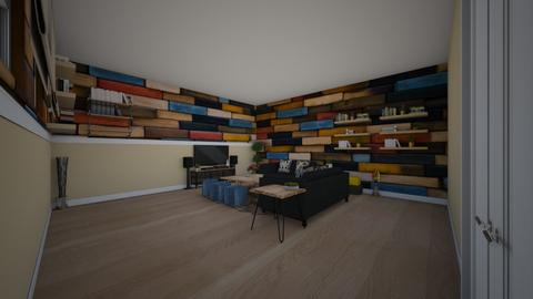 teenager living room - Modern - Living room  - by Stavroula Chatzina