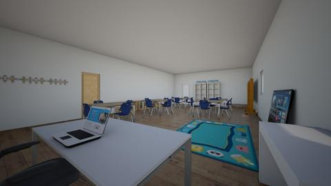 MI AULA 9 - Kids room  - by korice