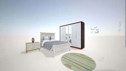 homasroom1 - Classic - Bedroom  - by sarwarri homaira