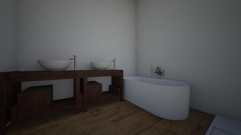 1 - Bathroom  - by simonaloberant