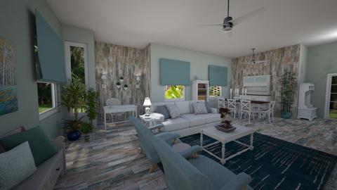 Contest OAK DArias - Country - Living room - by Daisy de Arias