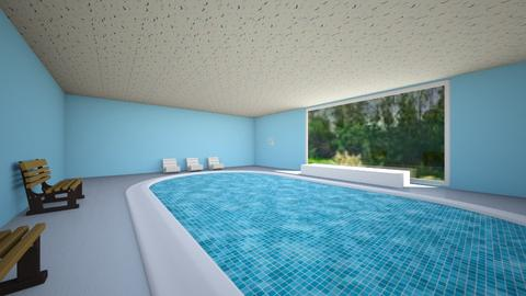 Swimming Pool - Garden - by SolangM1