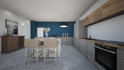 A M B E R - Kitchen  - by blueberry_pie26