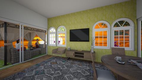 GArden - Living room - by kalebstar