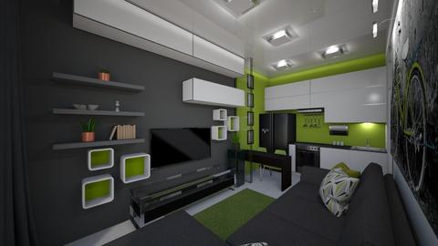 Green light - Modern - Living room  - by Oemoff