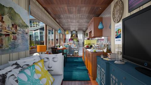 container home sausalito - by Teri Dawn