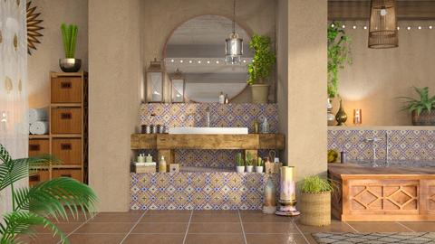 Boho Bathroom - Bathroom - by LB1981
