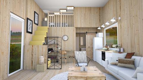 Japandi Tiny House Like - by lyrikkah