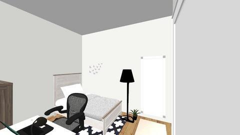 Dorm room - Modern - Bedroom - by bmjbblue