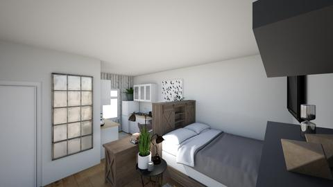STUDIO BED AREA 2 - Bedroom - by Tiny_Bubbles