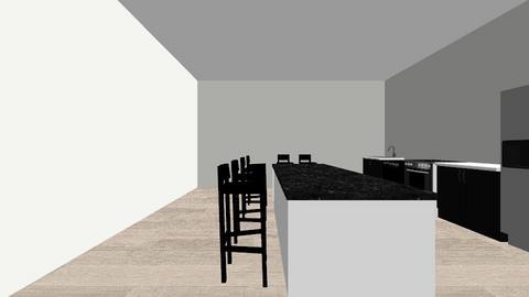 Single Wall Kitchen Style - Kitchen  - by Allyson_Adams