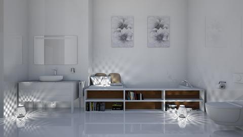 Apartment Bathroom - Modern - Bathroom  - by millerfam