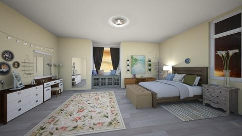 Country vibe - Bedroom - by Melanie25