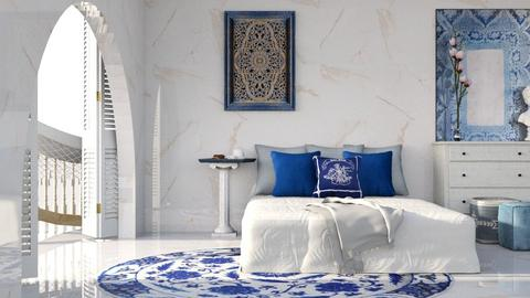 Greece - Bedroom  - by FURFUR