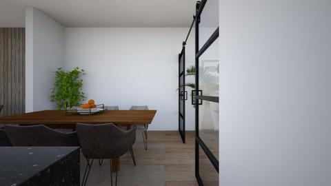 keuken eiland 3 ruimte - Kitchen  - by Claradanixx