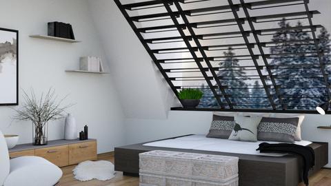 Beau - Modern - Bedroom  - by matildabeast