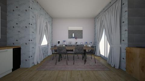 kitchen  - Dining room  - by cerishwalker
