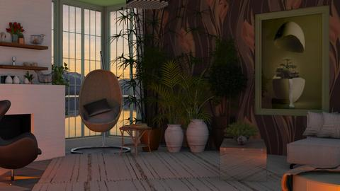 Egg - Living room  - by Sue Bonstra