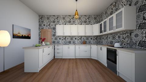 E - Classic - Kitchen  - by Twerka