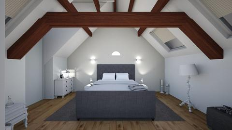 Bedroom in old attic - Modern - Bedroom - by deleted_1521446318_Holiday Home Res
