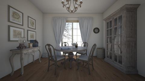 sofi j - Rustic - Living room  - by sjanevska