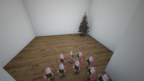 Santa Clausini Partiny - by fanysamaniego