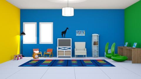Kindergarten - by sophiefleah