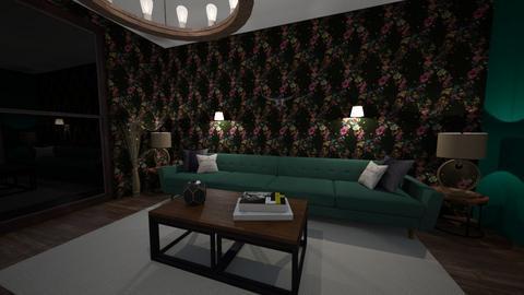 modern living room - Modern - Living room - by Rahaf123bawadri