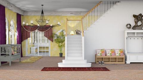 Sikk hallway - by Nari31