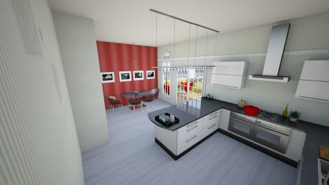 ammarmeryemkitchen - Modern - Kitchen  - by kanatsizmelek