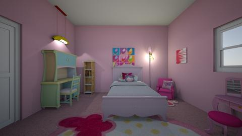 Child Bedroom  - Kids room  - by Dhyatt123