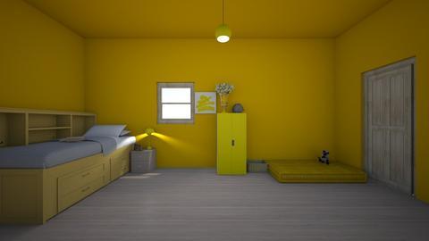yellow island - Feminine - Kids room - by Licorice123