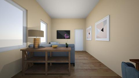 Matt McGrath - Living room  - by deannaduba