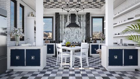 Design 527 Art Deco Kitchen - Kitchen  - by Daisy320