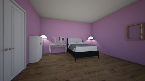 floor plan of my own room - by julianna768