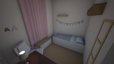 NurserytoKidsRoom2 - Kids room  - by plantgirl