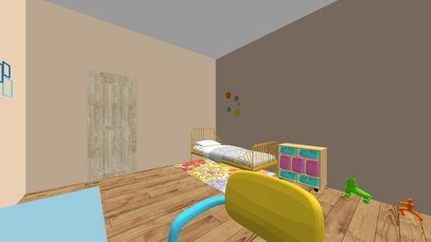 coloreful - Bedroom - by LeLebear