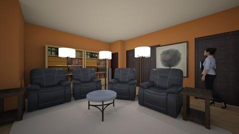 TV Room - Living room  - by strizich2