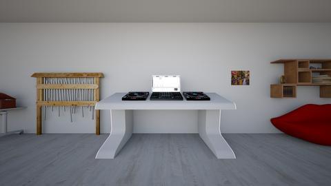 Music shop_DJ booth  - by saratevdoska