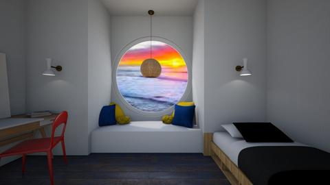 Through The Porthole - Modern - Bedroom  - by Itsavannah