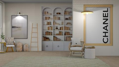 Q U I L L A - Living room  - by cozB12
