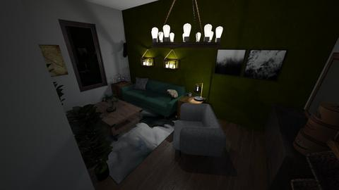 forest - Living room - by zolaubbary