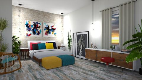 Contemporary Artist - Bedroom - by _PeaceLady_