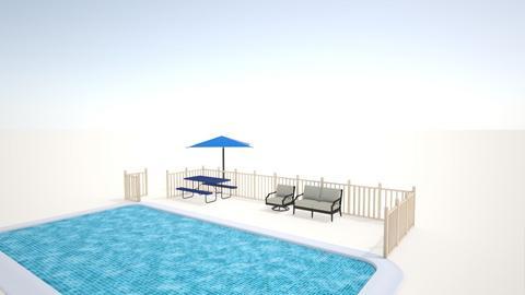 Pool Deck - Classic - Garden  - by splunetta