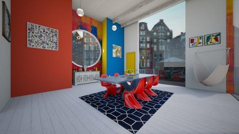 living room - Living room  - by Der Wandernde Vogel