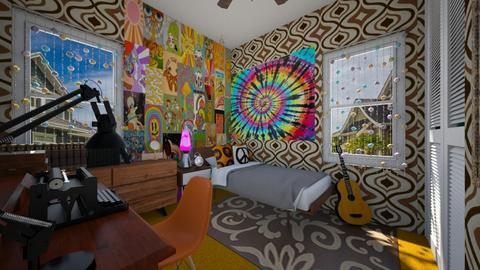 That 70s Vibe - Bedroom  - by SammyJPili