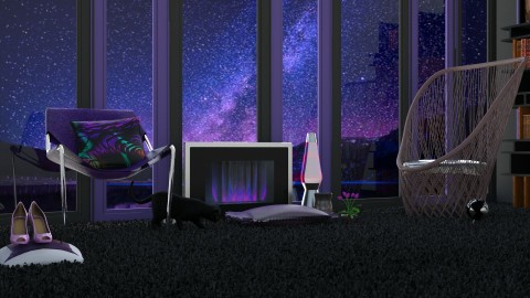 Nightfall - Modern - Living room  - by InteriorDesigner111