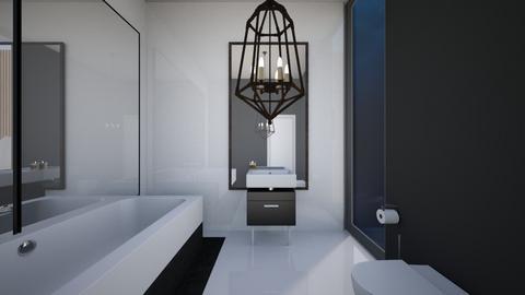 Modern House Guest Bath - Modern - Bathroom  - by Callmekai22