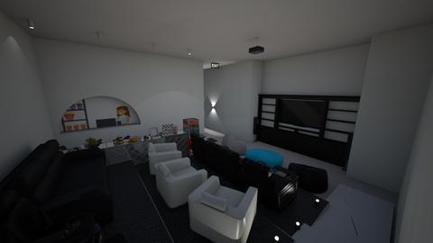 Home Cinema 1 - Modern - by mydreamjob25