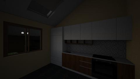 Backyard - Kitchen  - by Earvette